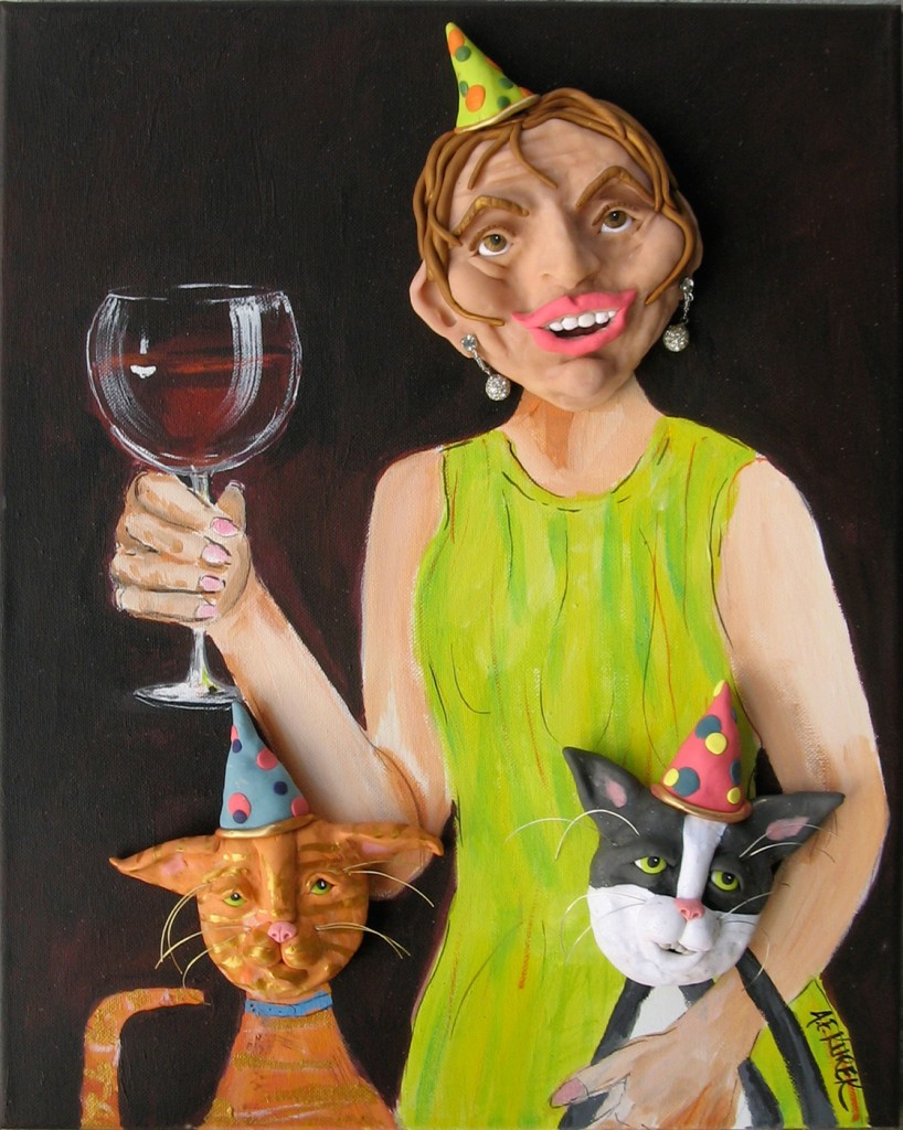Alison_E_Kurek_Ladys_Cat_Party