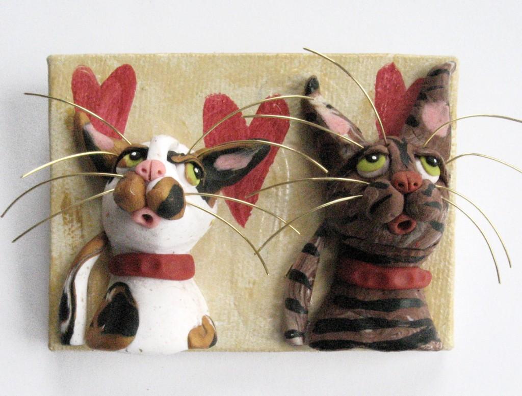 Alison_E_Kurek_Valentine_Cats_ACEO_1