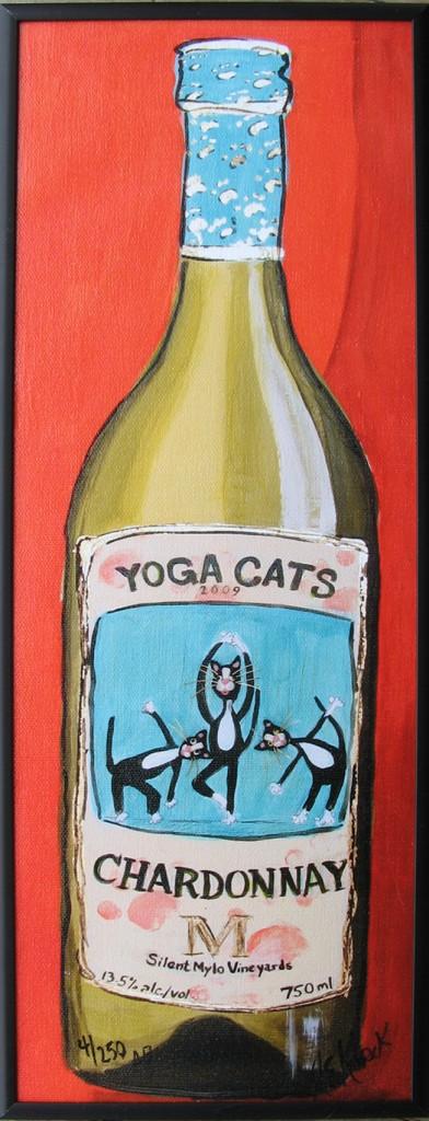 Alison_E_Kurek_Yoga_Cat_Chardonnay