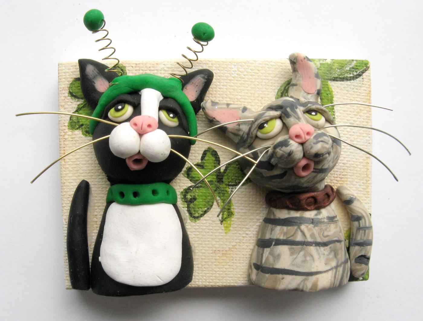 Alison_E_kurek_St._Patrick's_Day_Cats