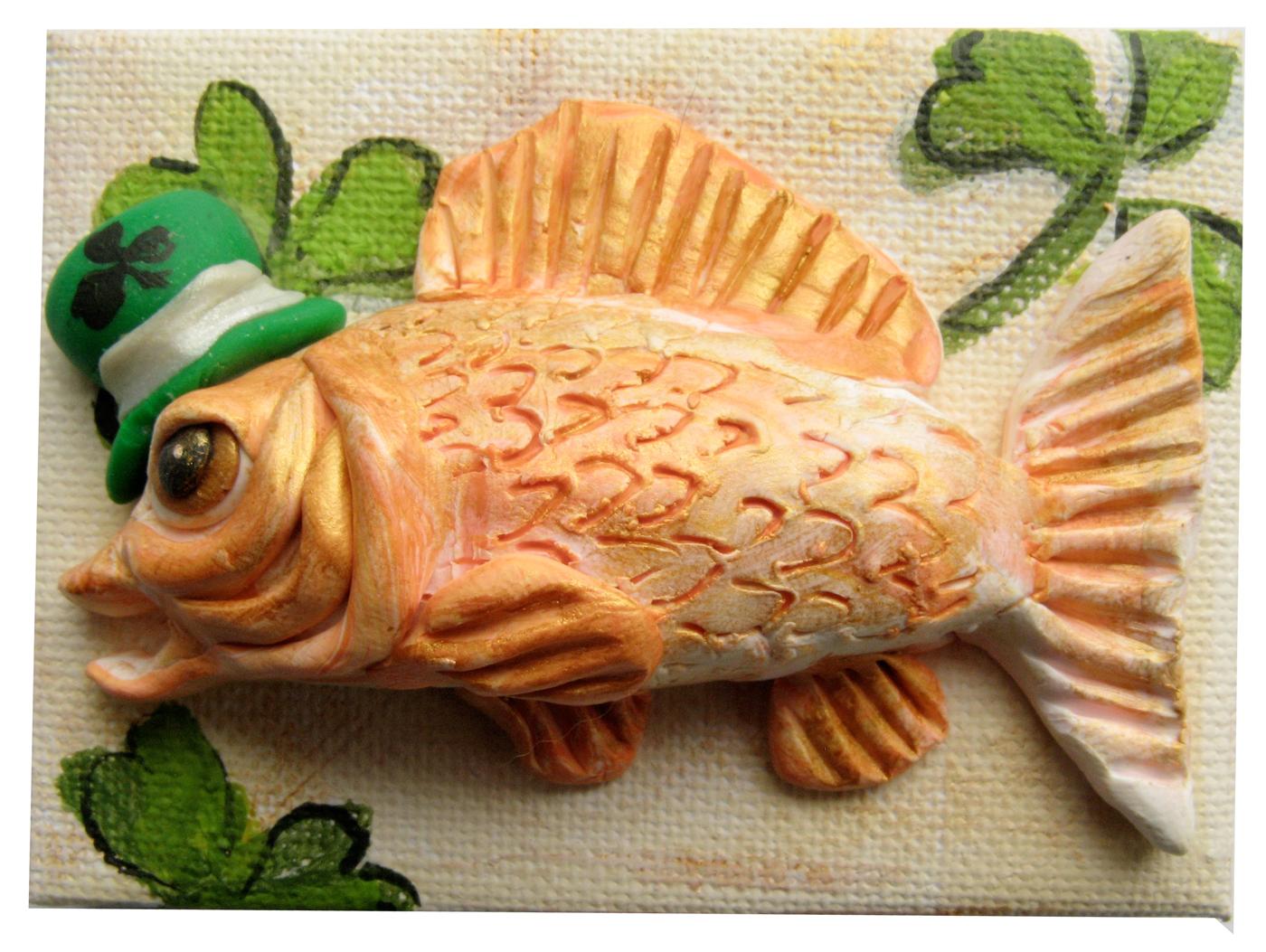Alison_E_kurek_St._Patrick's_Day_Gold_Fish_1