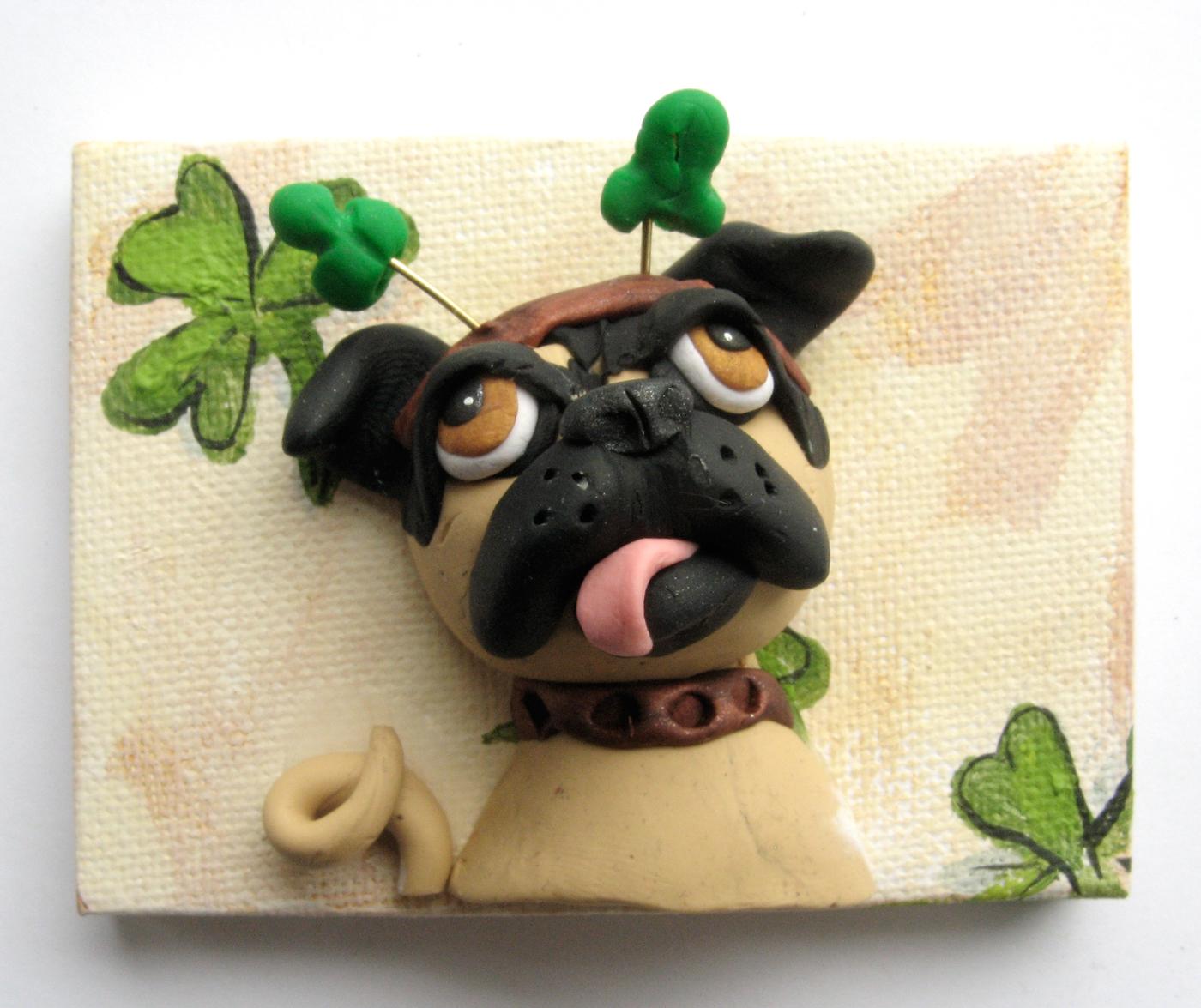 Alison_E_kurek_St._Patrick's_Day_Pug_1
