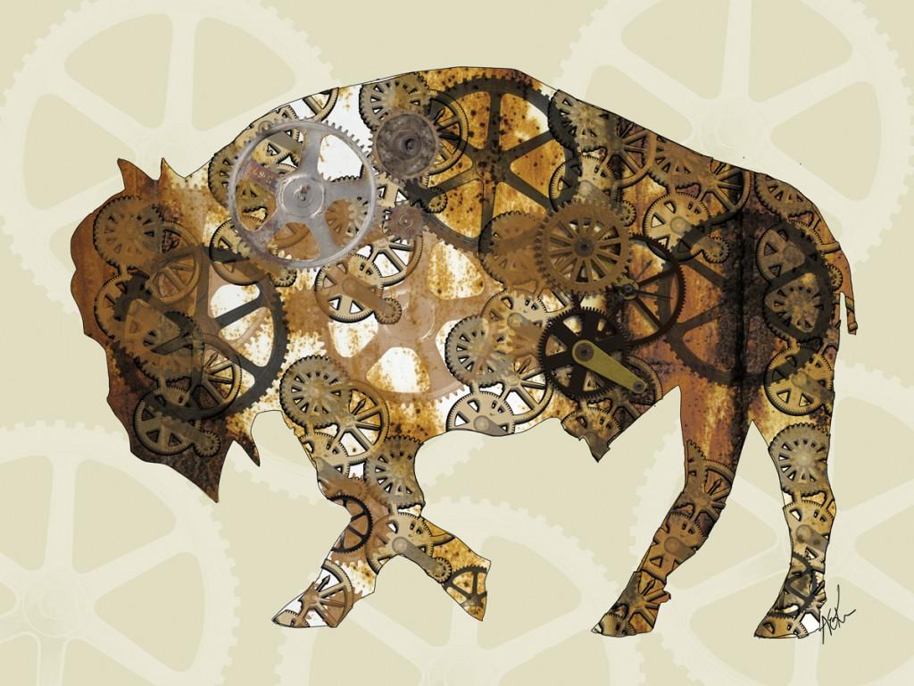 Rust Belt Steampunk Buffalo