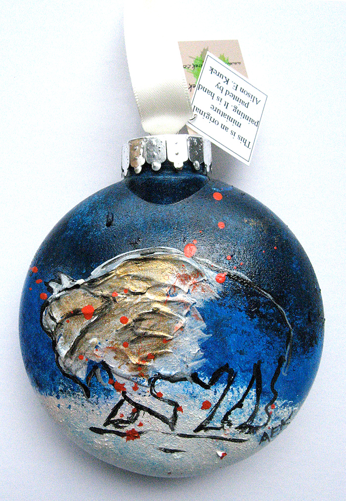 Alison_E_Kurek_Buffalo_Ornaments_Lake_Effect_Snow_Buffalo_Ornament_2