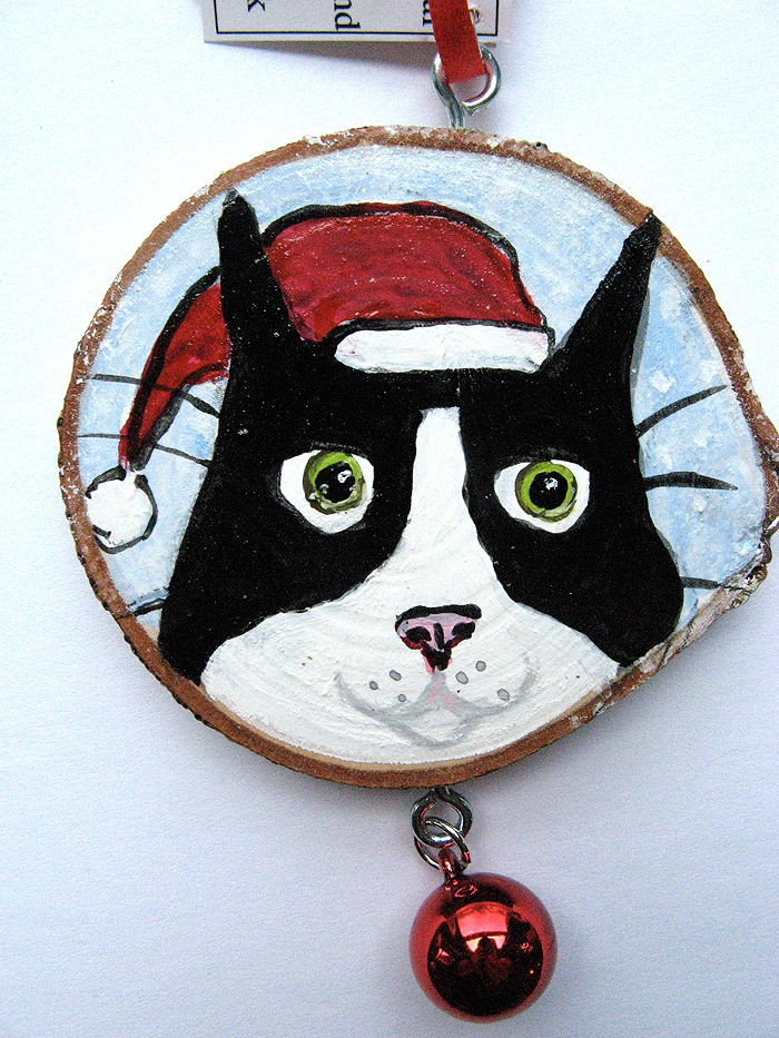 Alison_E_Kurek_Cat_Ornaments_Silent_Mylo_Tuxedo_Cat_Ornament_Santa_Cat_Ornament_2